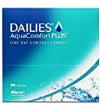 Dailies AquaComfort Plus Tageslinsen weich, 90 Stück, BC 8.7 mm, DIA 14.0 mm, -2.75 Dioptrien