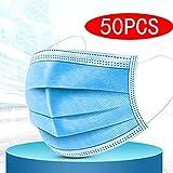 50PCS Einweg-Pflegemaske Atemmaske Gesichtsmaske Atemschutzmaske Blaue Maske Pm2.5 Sicherheitsmaske Gesichtsabdeckung