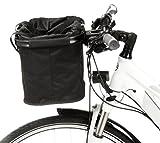 Fitnessmarke Lenker Fahrradkorb Easy Shopper Lenkertasche Alu-Rahmen Klicksystem faltbar Tasche Bike Rad Basket Schwarz ~yx 125