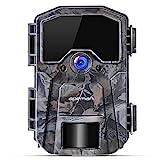 APEMAN Wildkamera 20MP 1080P Infrarot-Nachtsicht Jagdkamera mit 940nm IR LEDs , Zeitraffer, Zeitschaltuhr, IP66 Wasserdicht