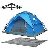 Night Cat Zelt 2 3 Personen Mann Wasserdicht Pop Up Zelt Camping Atmungsaktiv Einfache Einrichtungs für Outdoor Wandern Doppelschicht