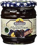 Mühlhäuser Thüringer Pflaumenmus mit Fruchtstücken, 450 g