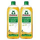 Frosch Orangen Universal Reiniger - kraftvoller Allzweckreiniger. 2er Pack (2 x 750 ml)