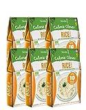6 x Slendier Bio Konjak Reis    Kalorienarm   Shirataki   Quelle für Ballaststoffe   Glutenfrei   6 x 250 g