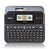 Brother PT-D600VP Professionelles Beschriftungsgerät für das Büro (für 3,5 bis 24 mm breite TZe-Schriftbänder, Thermotransfer-Druckverfahren)