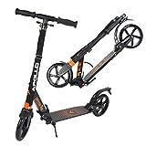 Apollo 200mm Wheel City Scooter - Spectre Pro City Scooter mit Doppel Federung, City-Roller klappbar und höhenverstellbar, Kickscooter für Erwachsene und Kinder
