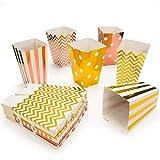 MOSRACY Popcorn Box-Candy Container 54 Stück Popcorn Tüten Candy Box Küche Dekoration Tasche Snack Pappe Candy Box tüten bar bargeeignet für Partytüten/Familienfeier/Kino/Geburtstagsfeier