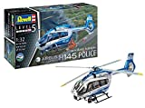 Revell 04980 14 Modellbausatz H145 Police im Maßstab 1:32, Level 5