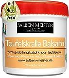 Salben Meister Teufelskralle Balsam   Durchblutungsfördernd mit Aloe-Vera, Lavendelöl, Rosmarinöl   Teufelskralle Creme   Teufelskralle Salbe Mensch   Teufelskralle Gel   200 ml