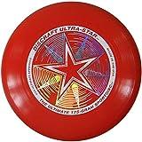 Discraft Ultra-Star 175g Ultimate Frisbee 'Starburst' - rot