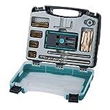 Wolfcraft Undercover Jig-Set 4642000 | Zuverlässige Bohrhilfe mit Schrauben für Holzverbindungen & das Bohren von Taschenlöchern | Im praktischen Kunststoffkoffer