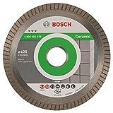 Bosch Professional Diamanttrennscheibe Best for Ceramic Extraclean Turbo zum Schneiden von harten Materialien (Ø 125 mm)