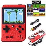 Handheld Spielkonsole, Etpark 400 Klassische Spielen 2.8-Zoll-LCD-Bildschirm tragbare Retro-Videospielkonsole Unterstützt das Anschließen an den TV-Anschluss und zwei Spieler für Kinder und Erwachsene