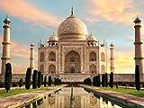 1art1 Taj Mahal - Der Kronen-Palast In Der Morgensonne, 2-Teilig Fototapete Poster-Tapete 240 x 180 cm