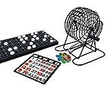noris NOR08011 606108011 Deluxe Bingo, Spieleklassiker