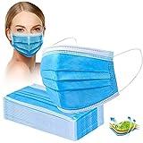 Crom Cr2 Masken Mundschutz - Mundschutz 50 Stück, 3-lagige Masken, Mundschutz, Maske, Einwegmasken