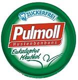Pulmoll Euka-Menthol Zuckerfrei, 10er Pack (10 x 50 g Dose)