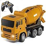Top Race TR-120 voll funktionsfähiger Ferngesteuerter und batteriebetriebener Bauwagen, Spielzeug für Jungen und Mädchen (Kinder im Alter von 3 - 7 Jahren) mit Lichtern und Geräuschen im Maßstab 1:18