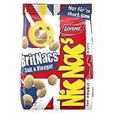 Lorenz Snack World NicNac's BritNacs Salt & Vinegar, 14er Pack (14 x 110 g)