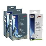 Jura 71794 + 61848 Kombi-Pack, Claris Filterpatrone Smart (2 x 3er-Pack) + 3er Entkalkungstabletten