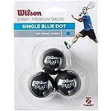 Wilson Squash-Ball, Staff, 3 Stück, Blau, Schwarz, WRT618000