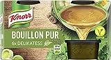 Knorr Bouillon Pur Dekikatess Ohne Farbstoffe, Konservierungsstoffe und geschmacksverstärkende Zusatzstoffe, 1er Pack (1 x 168 g)