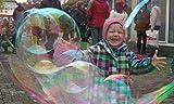 10L RIESEN SEIFENBLASEN Geburtstag Hochzeit ++EBOOK UND BONUS ++ [GRÖßER ALS DU SELBER,ODER GELD ZURÜCK GARANTIE]Party Maschinen Riesenseifenblasen Geschenk Nachfüllflasche Nachfüllflüssigkeit Fest Therapie Taufe Maxi Puste Seifenwasser Gratis Event 10.000ml Kindergarten Schule GIANT Soapbubbles BUBBLES