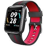 UMIDIGI Smartwatch Uwatch3 GPS, 1.3 Zoll Touch-Farbdisplay, Fitness Armbanduhr mit integriertem GPS, 5 ATM wasserdichte Smart Watch Fitnessuhr Sportuhr mit Schlafmonitor, Stoppuhr für Damen und Herren