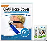 RespLabs CPAP Hose Cover — [6 Foot] Tube Wrap | Fleece Tubing Comfort with Zipper