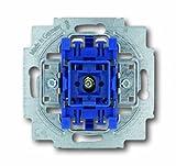 Busch-Jaeger 2000/6USK Wippkontrollschalter-Einsatz Aus- und Wechselschaltung mit N-Klemme 2000/6 USK