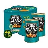 HEINZ Baked Beanz in Tomato Sauce 4x 415g (1660g) - Heinz Original Gebackene Bohnen