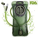PUNDA Premium Trinkblase 2L mit Beissventil - BPA-frei, antibakteriell und auslaufsicher für Jeden Trinkrucksack geeignet - Hochwertiges Trinksystem 2 Liter für Sport & Freizeit