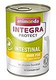 animonda Integra Protect Hunde Intestinal, Diät Hundefutter, Nassfutter bei Durchfall oder Erbrechen, mit Pute, 6 x 400 g