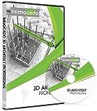 Immocado 3D Architekt Professional - 3D Hausplaner Architektur Software / 2D Grundriss Programm mit Hausplaner, Einrichtungsplaner, Gartenplaner, Wohnungsplaner, Küchenplaner und Badplaner