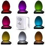 Das Nachtlicht Gadget für die Kloschüssel Lustiges LED Bewegungslicht. Vatertagsgeschenk Muttertagsgeschenk Besondere Geschenke für Weihnachten Frauen Männer Väter Mama Beste Ehemann Herren Ihn Sie
