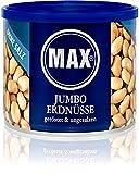 MAX JUMBO ERDNÜSSE - geröstet & ungesalzen (6er Karton)