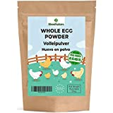 Volleipulver - 100% 'Free Hens' 500 g - proteinpulver pasteurisiert - Glutenfrei - ideal für Kuchen und Rührei.