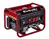 Einhell Stromerzeuger (Benzin) TC-PG 2500 (4 kW, Dauerleistung 2.100 W, max. 2.400 W, zwei 230 Volt-Anschlüsse, 15 L-Tank, Voltmeter, Überlastschalter, Ölmangelsicherung, AVR-Funktion, Seilzugstart)
