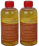Mastercleaner Orangenölreiniger Konzentrat, Orangenreiniger auf Basis von natürlichem Orangenöl hochkonzentriert, Orangenreiniger 2 * 500ml