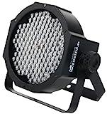 Showlite FLP-144 Flatline Panel LED Scheinwerfer (PAR Strahler, Discolicht, Bühnenbeleuchtung, Lampe, 144 LED/RBG mixing, Anschlüsse: DMX In/Out, 6 DMX Modi)