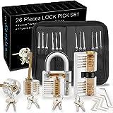 Dietrich Set, Preciva 26 tlg. Lockpicking Set Generalschlüssel-Systeme mit für Einsteiger