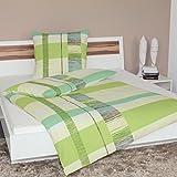 Janine Design Soft-Seersucker Bettwäsche 2377-06 1 Bettbezug 135x200 cm + 1 Kissenbezug 80x80 cm