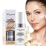 TLM Foundation, Make-Up-Basis, feuchtigkeitsspendend, für Frauen und Mädchen, LSF 15