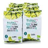 Kulau Bio-Nori-Snack Sea salt, 8 x 4g