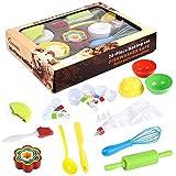 10pcs Kochset Chef-Set Für Kinder Keks Backset Spielen, Backenwerkzeuge Küchenkostüm Rollenspiele Geburtstagsgeschenke