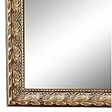 Online Galerie Bingold Spiegel Wandspiegel Gold 50 x 60 cm - Antik, Barock, Vintage - Alle Größen - Massiv - Holz - AM - Brescia 2,0