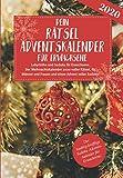 Dein Rätsel Adventskalender für Erwachsene - Labyrinthe und Sudoku für Erwachsene. Der Weihnachtskalender 2020 voller Rätsel, für Männer und Frauen ... Sudoku Adventskalender für Erwachsene.