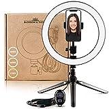 Selfie Licht | Ringlicht Handy | Selfie Ringleuchte mit Stativ | Led Ringlicht | Handy Stativ mit Fernauslöser