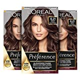 L'Oréal Paris Préférence 6.21 Helles Perlmuttbraun (Zürich) 3er Pack(3 x 183 g)