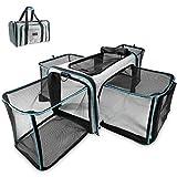 Zoolony-Transporttasche für Hunde & Katzen ideal als Hundebox, Hundekorb, Katzentransportbox, Katzenkorb, Welpenbox UVM. - faltbar, pflegeleicht, groß und sicher im Auto und Flugzeug